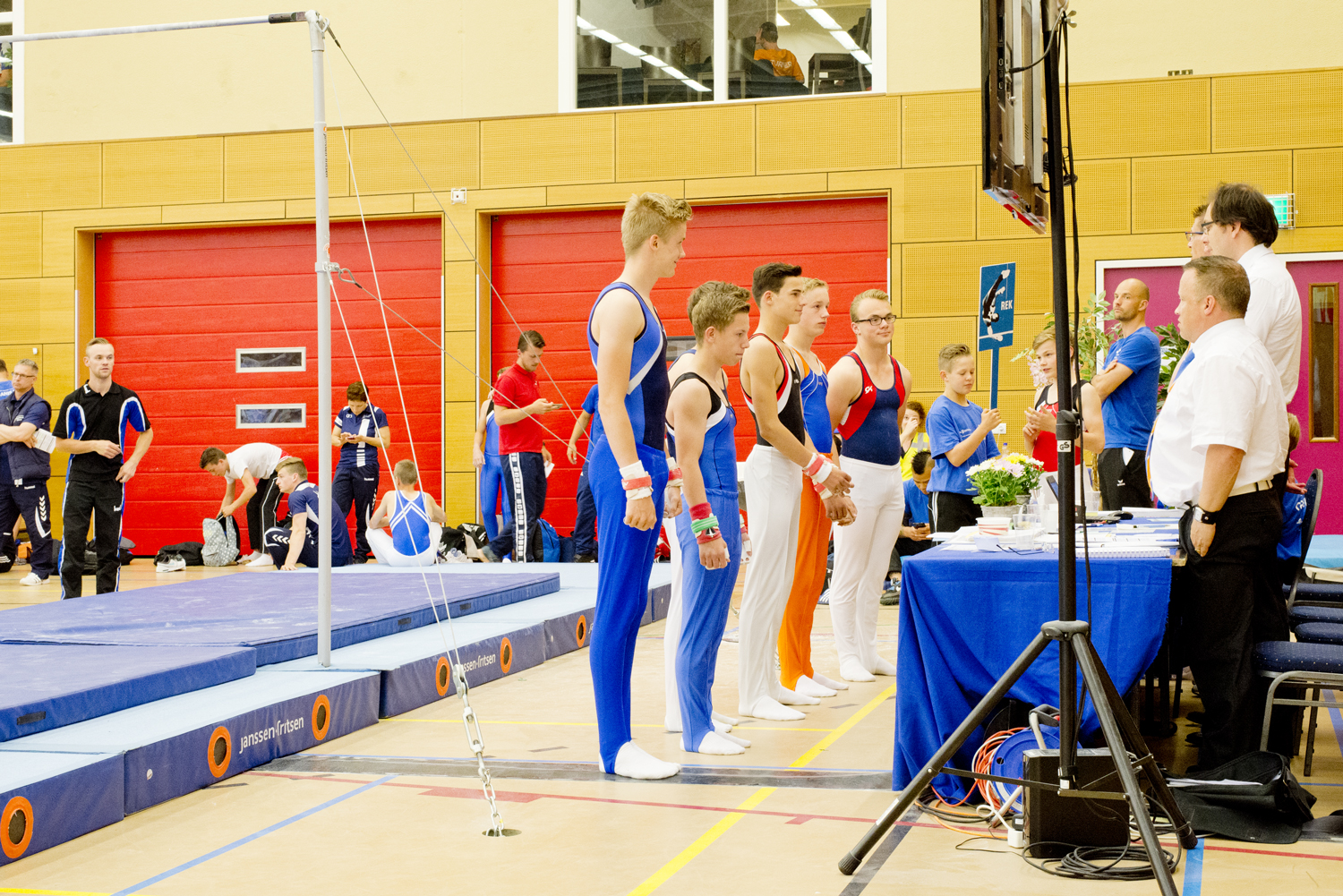 Finale turnen heren 2016